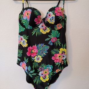 Old Navy Floral Print Swimsuit